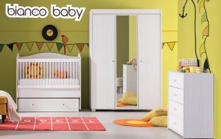 Bebek Odası Takımı Bianco