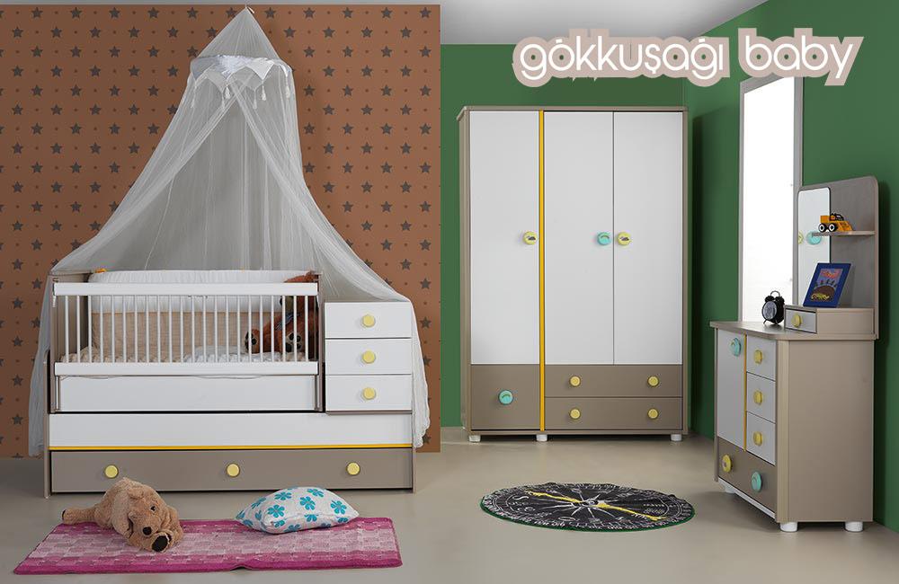 Bebek Odası Takımı Gökkuşağı