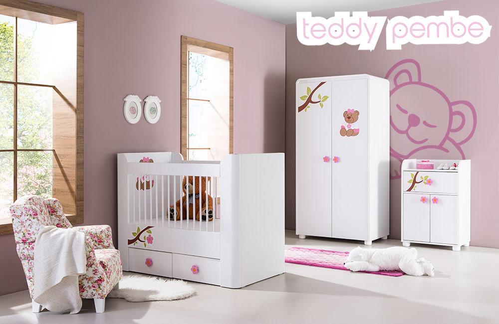 Bebek Odası Teddy Pembe