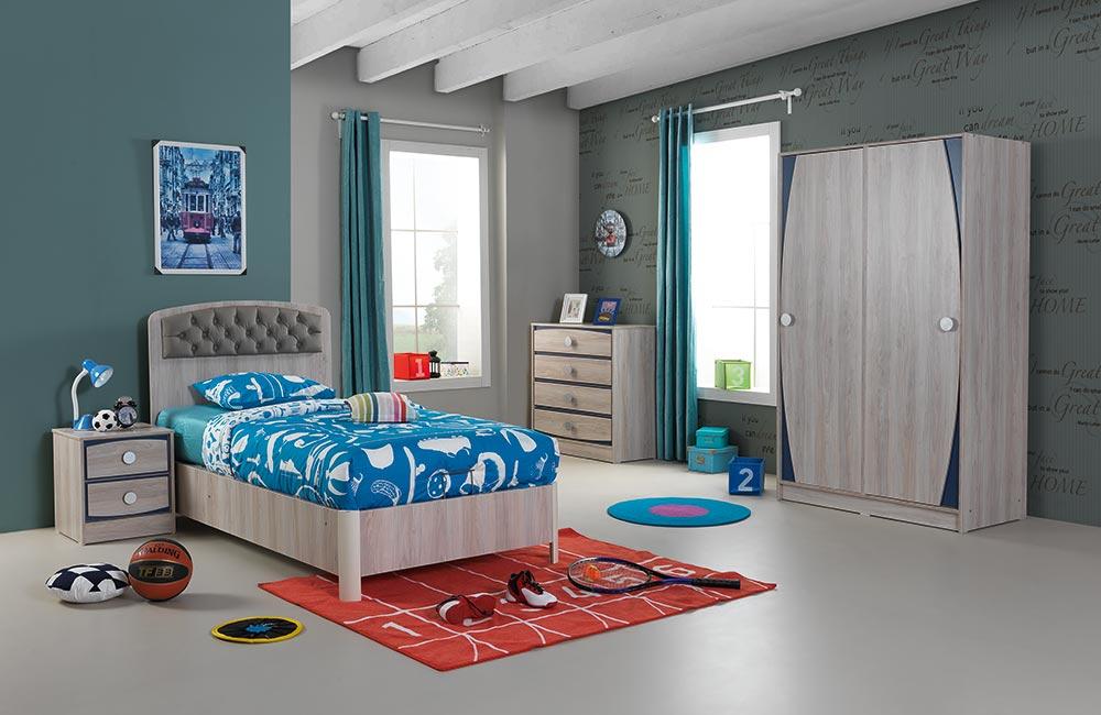 Genç Odası Takımı Energy Mavi