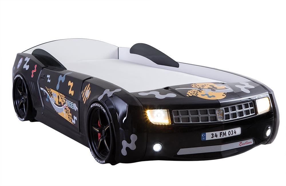 Siyah Araba Karyola Camaro