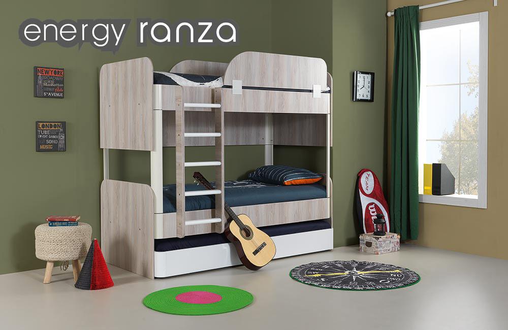 Ranza, Ahşap Merdiven Energy