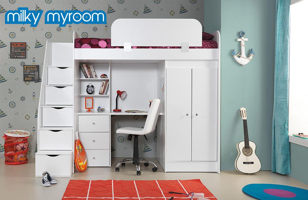 Genç Odası Ranza Milky Myroom