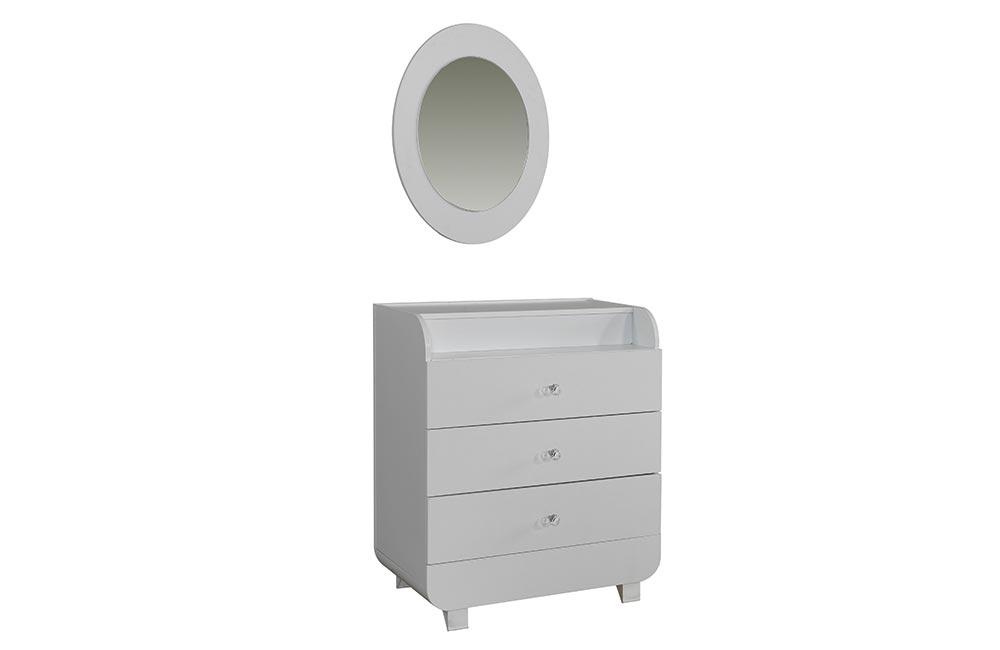 Şifonyer & Şifonyer Ayna Reflect Beyaz